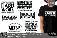 Booker T Washington Quotes - SVG and Cut Files for Crafters Product Image 1