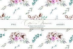 Cotton & Anemones Seamless Patterns Product Image 13