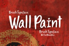 Web Font Wall Paint Product Image 1