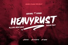 Heavyrust | Display Font Product Image 1