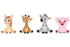 Cartoon Baby Animal Bundle Product Image 4