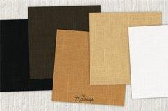 Digital Paper Pack - Linen Natural Set 01 Product Image 2