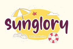 Sunglory Lovely Handwritten Font Product Image 1