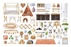 Bohemian House Watercolor set Product Image 5