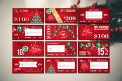 12 Christmas Voucher Template AI EPS CDR Product Image 2