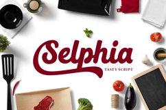 Selphia Script Product Image 1