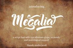Megalia - Script Font Product Image 1