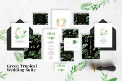 Green Tropical Wedding Suite Product Image 1