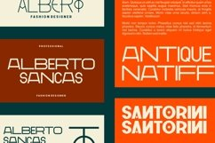 GR Milesons | Artdeco Typeface Product Image 4