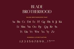 Blade Brotherhood Serif Typeface Font Product Image 2