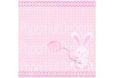 Baby Girl Clipart and Digital Papers Set Product Image 3