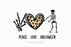 Halloween SVG bundle | fall svg | peace love svg bundle Product Image 6