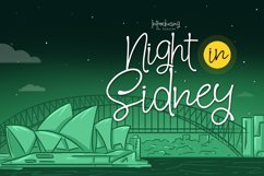 Night in Sidney Product Image 1