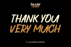 Web Font   The Wild Chaos   Family Product Image 3