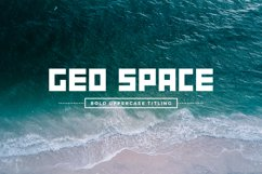 GEO Space   Bold Uppercase Titling Product Image 1