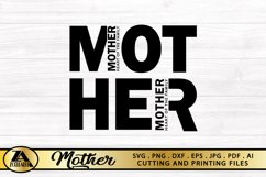 Mother SVG Mothers Day SVG Mom Life SVG Mommy Quotes SVG Product Image 6