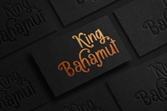 Bacarons - A Stylish Font With Alternatives Product Image 3