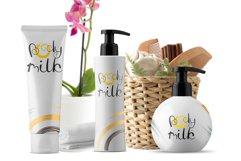 Fresh Wild Coconut decorative FONT Product Image 5