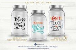 Mason Jar Designs, Decals, printable labels svg files Bundle Product Image 2
