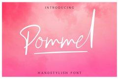 Pommel - Handstylish Font Product Image 1