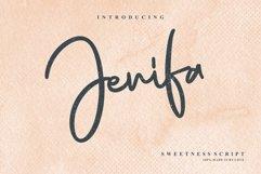 Jenifa Script Font Product Image 1