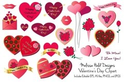 Valentine's Day Clipart Product Image 1