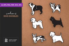 Dog Shapes SVG - Dog Doodles for Cricut Product Image 1