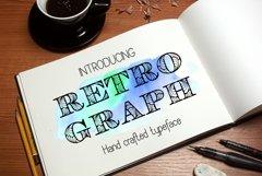 Retroghaph font Product Image 6