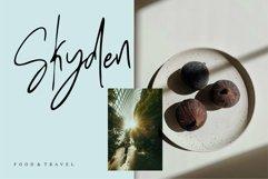 Web Font Roshbella - Beauty Handwritten Font Product Image 5
