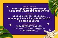 Goshbumb - Modern Playful Typeface Product Image 5