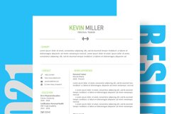 Personal Trainer Resume Template | Cover Letter | Reference Product Image 3