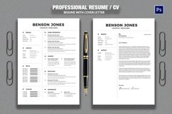 Resume/CV Product Image 1