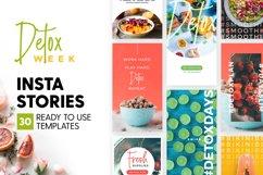 Instagram Stories - Detox Week Ed Product Image 1