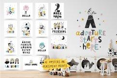 Nursery Scandinavian Art & Alphabet Big Bundle Product Image 6