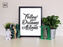 Follow your Dreams with Actions Product Image 1