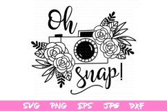 svg files, camera svg, spring svg file, flower svg, spring Product Image 2