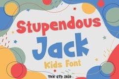 Stupendous Jack - Kids Font Product Image 1