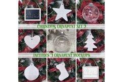 Christmas Ornament Mockup Set 2 Product Image 1