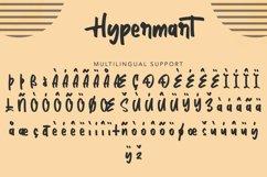 Hypermart | Handwritten Display Font Product Image 6