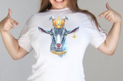 Cheeky gray goat Product Image 4