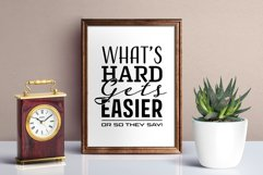 Whats Hard Gets Easier Product Image 1