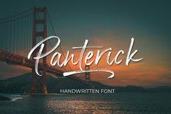 Panterick // Handwritten Font Product Image 1
