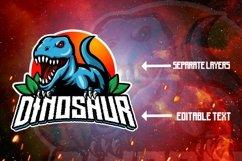Dinosaur mascot logo design Product Image 3