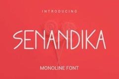 Web Font Senandika Font Product Image 1