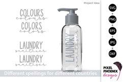 Laundry Labels SVG, Bottle Labels, Jar Labels Product Image 4