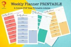 Weekly Planner Printable To Do List Product Image 1