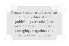 Ornate Blackboards pack Product Image 4