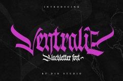Ventralie -Blackletter Font Product Image 1