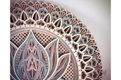 M12 - Lotus Flower Mandala Pattern Product Image 6