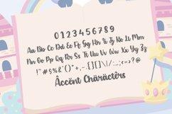 Blonde Unicorn Fun & Fat Handwritten Font Product Image 6